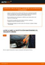 Tutorial de reparación y mantenimiento de Audi 80 B1