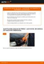 Guía de reparación paso a paso para Audi 80 B3