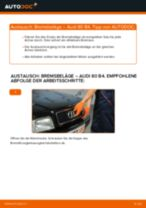 Anleitung zur Fehlerbehebung für AUDI Bremsbeläge Keramik