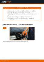 Verkstadshandbok för Audi 80 B2