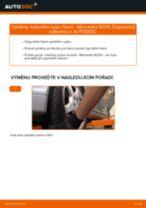 Výměna Hlava příčného táhla řízení MERCEDES-BENZ E-CLASS: online průvodce