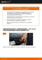 Audi 80 B1 φροντιστήριο επισκευής και εγχειριδιο