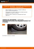 Как се сменят задни пружини на Audi 80 B4 – Ръководство за смяна