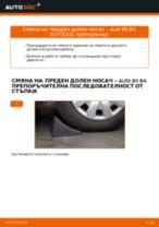 Стъпка по стъпка ръководство за ремонт на Audi 80 B4 Avant