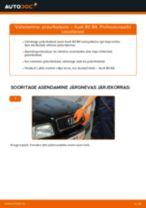 Samm-sammuline PDF-juhend AUDI 80 (8C, B4) Piduriketas asendamise kohta
