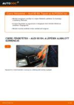 Hátsó fékbetétek-csere Audi 80 B4 gépkocsin – Útmutató