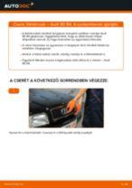 Kezelési kézikönyv pdf: Audi 80 B2