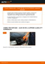 Útmutató PDF 80 karbantartásáról