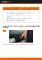Mainīties AUDI 80 (8C, B4) Amortizators - soli-pa-solim pamācības PDF