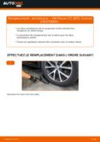 Changer Jambe de force arrière + avant VW à domicile - manuel pdf en ligne
