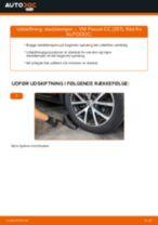 Hvordan skifter man og justere Fjäderben VW PASSAT: pdf manual