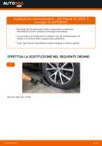 Come cambiare ammortizzatori della parte posteriore su VW Passat CC (357) - Guida alla sostituzione