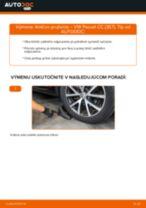 Výmena Tlmič pruzenia VW PASSAT: dielenská príručka
