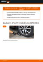 Menjava spredaj in zadaj Blažilnik VW PASSAT: spletni vodič