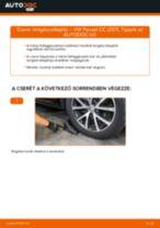 VW hátsó és első Lengéscsillapító szett cseréje csináld-magad - online útmutató pdf