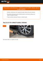 Schimbare Amortizoare VW PASSAT: pdf gratuit