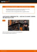 Wie Audi A6 C5 Avant Bremssattel vorne wechseln - Anleitung