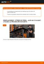 Notre guide PDF gratuit vous aidera à résoudre vos problèmes de AUDI Audi A6 C5 Avant 1.9 TDI Étrier De Frein
