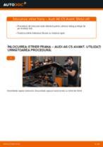 Montare Etrier frana AUDI A6 Avant (4B5, C5) - tutoriale pas cu pas