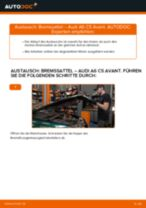 hinten + vorne Bremssattel AUDI A6 Avant (4B5, C5) | PDF Wechsel Tutorial