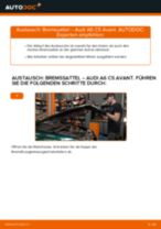 Wie Audi A6 C5 Avant Bremssattel hinten wechseln - Anleitung