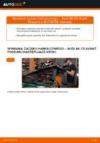 Zalecenia mechanika samochodowego dotyczącego tego, jak wymienić AUDI Audi A4 B8 Sedan 1.8 TFSI Amortyzator