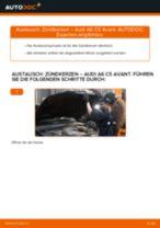 Wie Audi A6 C5 Avant Zündkerzen wechseln - Anleitung