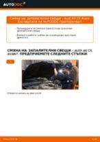 Как се сменят запалителни свещи на Audi A6 C5 Avant – Ръководство за смяна
