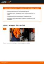 Kā nomainīt un noregulēt Eļļas filtrs VW LUPO: pdf ceļvedis