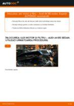 Cum să schimbați: ulei motor și filtru la Audi A4 B5 sedan   Ghid de înlocuire