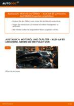 Wie Audi A4 B5 Limousine Motoröl und Ölfilter wechseln - Schritt für Schritt Anleitung