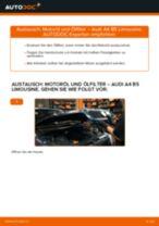 Wie Audi A4 B5 Limousine Motoröl und Ölfilter wechseln - Anleitung