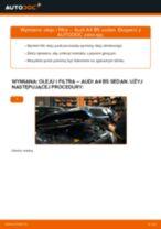 Jak wymienić oleju silnikowego i filtra w Audi A4 B5 sedan - poradnik naprawy