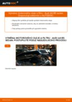 VW Caddy 4 Combi výměna Doraz A Prachovka Tlumičů : návody pdf