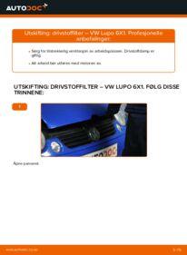 Slik bytter du Drivstoffilter på VW LUPO