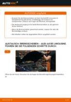 Anleitung: Audi A4 B5 Limousine Bremsscheiben hinten wechseln