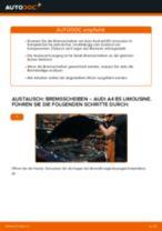 Wie Audi A4 B5 Limousine Bremsscheiben hinten wechseln - Anleitung