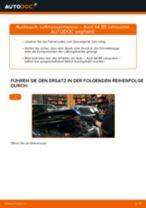 Wie Audi A4 B5 Limousine Luftmassenmesser wechseln - Anleitung