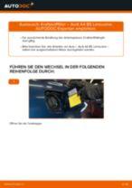 Wie Audi A4 B5 Limousine Kraftstofffilter wechseln - Anleitung