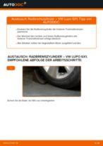Schritt-für-Schritt-PDF-Tutorial zum Halter, Stabilisatorlagerung-Austausch beim Fiat Panda 169