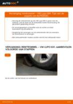 Gratis handleiding voor het Remtrommel vernieuwen VW LUPO (6X1, 6E1)