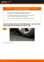 Impara a risolvere il problema con Molla Ammortizzatore anteriore sinistro destro VW
