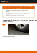 Výmena Pruženie VW LUPO: dielenská príručka