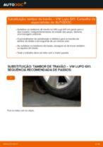 Mudar Polia de desvio / de guia, correia dentada VW LUPO: manual técnico