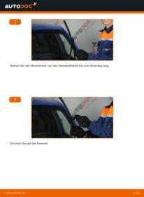 Wie der Wechsel durchführt wird: Scheibenwischer 1.2 TDI 3L Lupo 3L tauschen