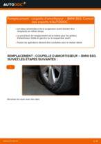 Comment changer : coupelle d'amortisseur avant sur BMW E60 - Guide de remplacement