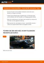 Wie Intercooler AUDI A4 tauschen und einstellen: PDF-Tutorial