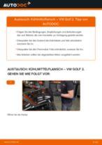 AUTOMEGA 160051310 für GOLF II (19E, 1G1) | PDF Handbuch zum Wechsel