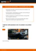 Hoe interieurfilter vervangen bij een Audi A4 B5 sedan – vervangingshandleiding
