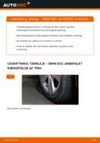 Udskift tårnleje bag - BMW E60   Brugeranvisning